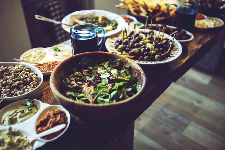Społeczna WEGE kolacja z mantrami