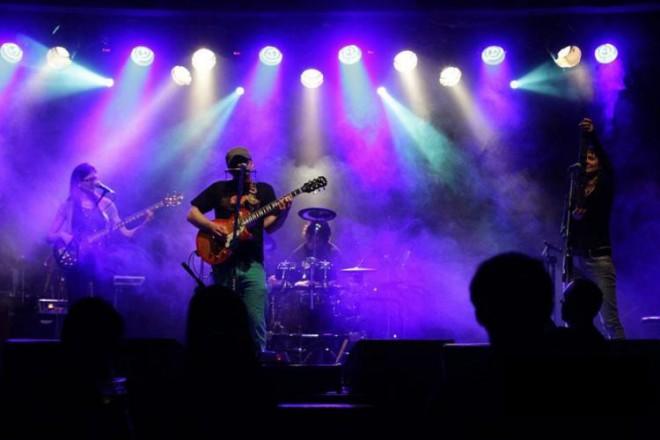 Koncert zespołu Man-tra w Warszawie