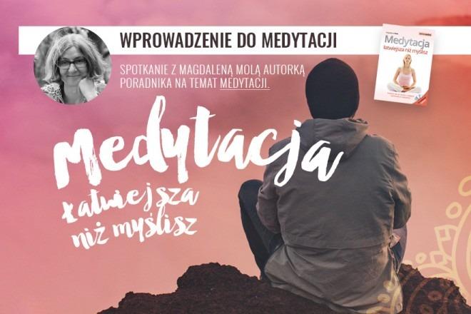 Wprowadzenie do medytacji - spotkanie z autorem książki