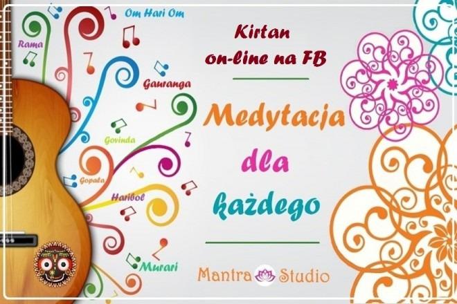 Mantra Studio - Medytacja Kirtan (zajęcia online)