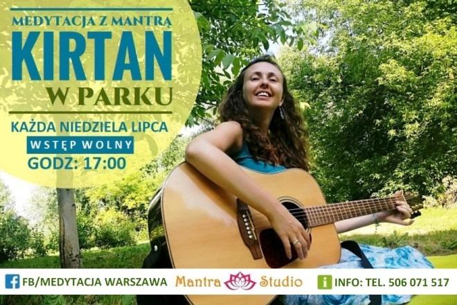 Mantra Studio: Medytacja kirtan w parku
