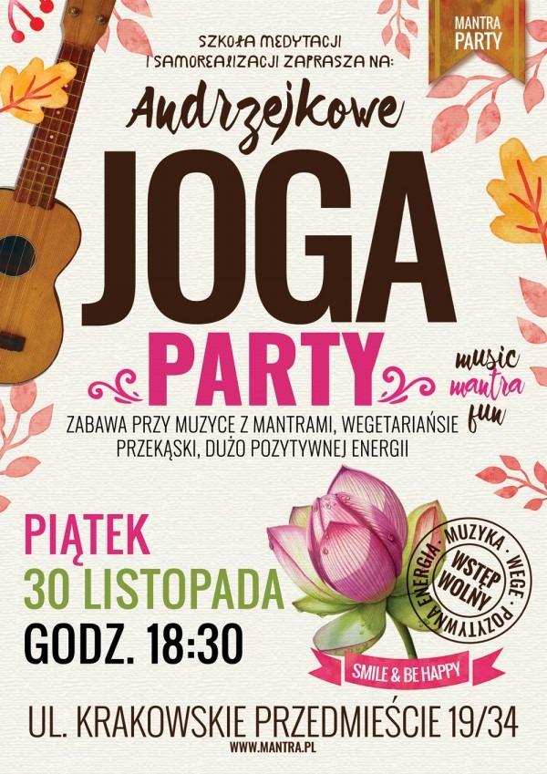 Andrzejkowe Joga Party