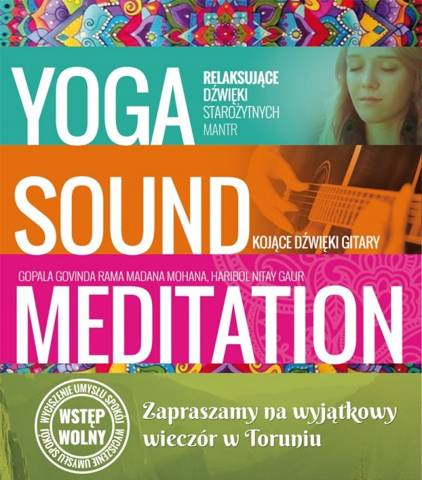Yoga, Sound, Meditation - Toruń