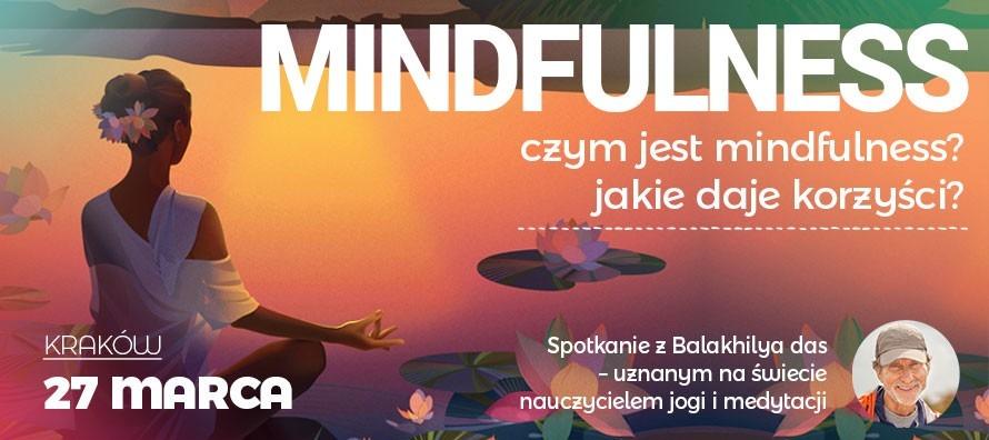 Mindfulness - wykład Balakhilya das w Krakowie Kijów.Centrum